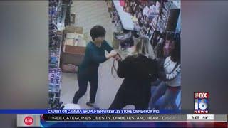 Shoplifter Derailed