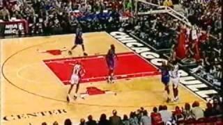 Shaq & Penny visit Jordan & The Bulls (NBA 1995-96)