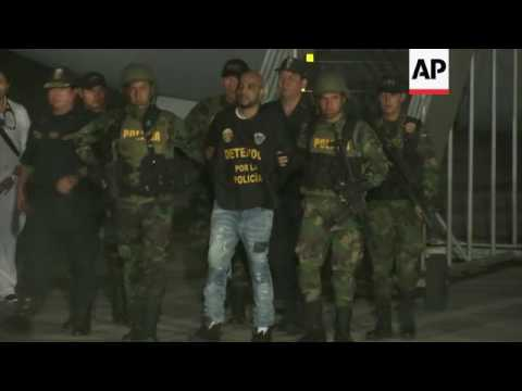 Peru's most wanted criminal lands in Lima