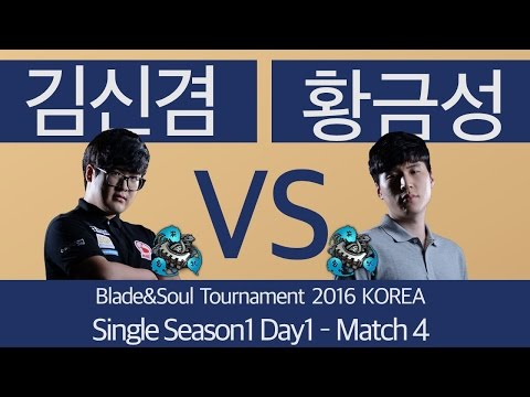 [B&S] Tournament 2016 KOREA SINGLE Season 1 Day1 – Match4