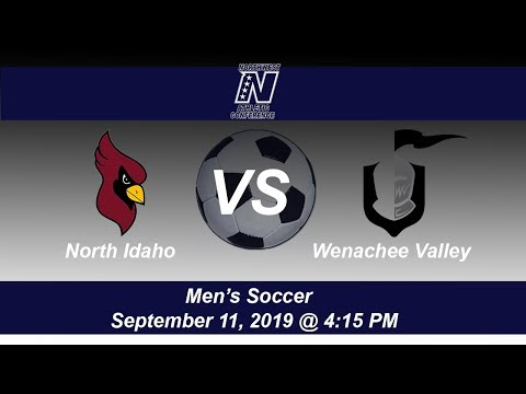 North Idaho College Men's Soccer host Wenatchee Valley College