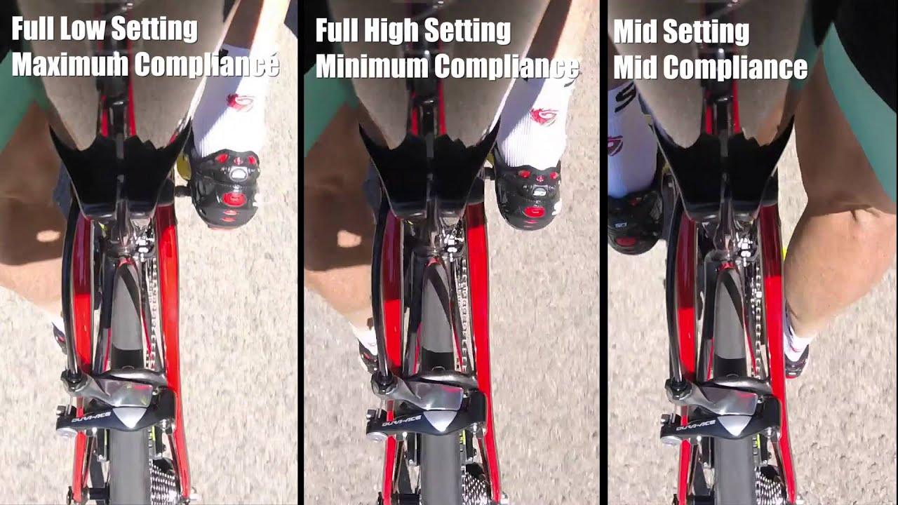Trek Domane SLR Bike mount footage of new Adjustable IsoSpeed