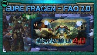 MayronUI Gen4 | FAQ 2.0 - Eure Fragen | Update 6.2 World of Warcraft Interface [ deutsch/german ]