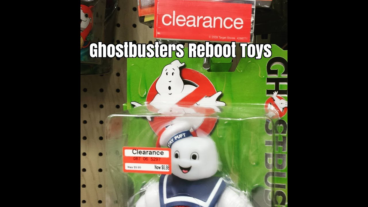 Ghostbusters Reboot Toys Already On Clearance At Target