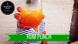 Homemade Rum Punch Recipe
