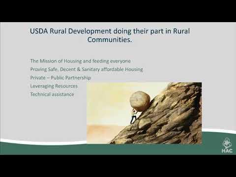 USDA's Section 538 Guaranteed Program - Part 1