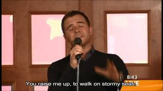 Westlife - You Raise Me Up with Lyrics (TV Live)
