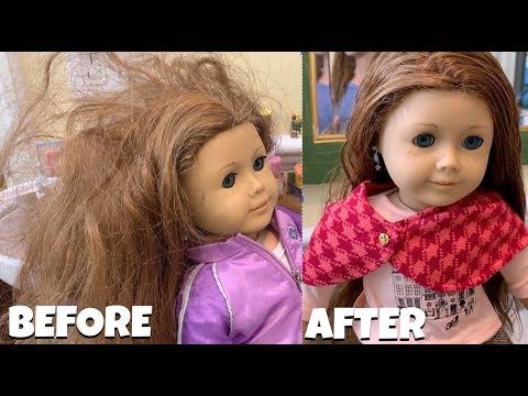 Fixing American Girl Doll