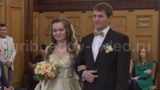 Свадьба в Первом дворце бракосочетания (Грибоедовский)