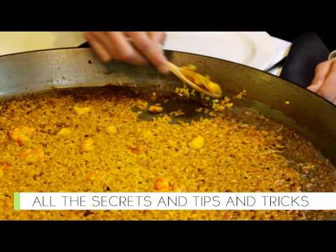 Introduction to Juanry's famous Paella course
