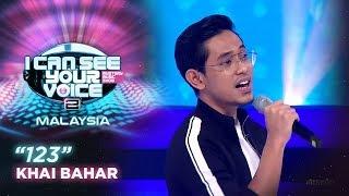 I Can See Your Voice Malaysia : Khai Bahar - 123 | #ICSYVMY
