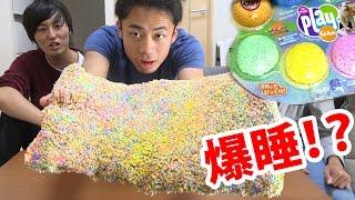 寝ている間にまくらを粘土にすり替えたら熟睡する!?