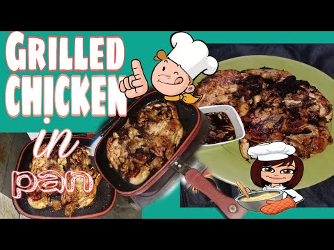 HOW TO COOK GRILLED CHICKEN IN PAN (USING HAPPY CALL PAN) / JS Life Vlog