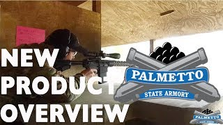 PALMETTO STATE ARMORY 2018 PRODUCT LINEUP