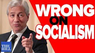 Matt Stoller dismantles Jamie Dimon's hypocritical Davos socialism attack