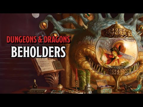 Beholders in Dungeons & Dragons and why they are Iconic