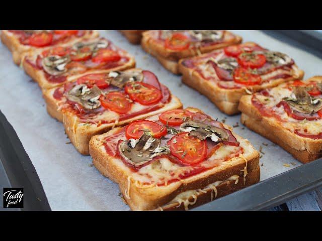 Изображение Мини-пицца, Перекус Из-за Которого Всегда Спешишь Домой!