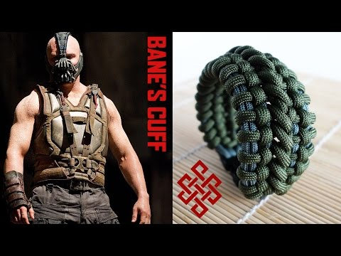 How To Make The Bane S Cuff Paracord Bracelet With Buckles