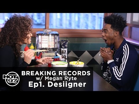 Desiigner on Ep1 of Breaking Records w/ Megan Ryte