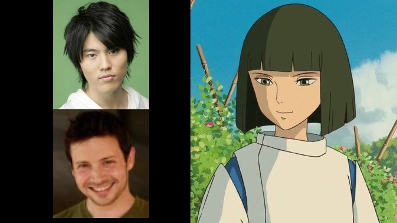 Anime Voice Comparison Haku Spirited Away Youtube