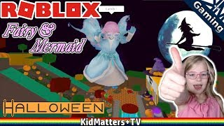 Video Roblox: HALLOWEEN! Fairies & Mermaids Winx High School.Princess Trick or Treating [KM+Gaming S02E02] download MP3, 3GP, MP4, WEBM, AVI, FLV Januari 2018