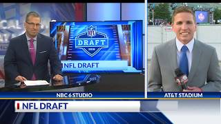 Brad Cesak NFL Draft 6PM Live Shot 4-26-18