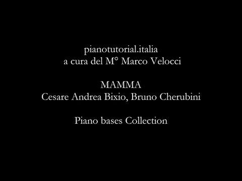 Mamma - Backing track - Cesare Andrea Bixio, Bruno Cherubini - Piano bases Collection
