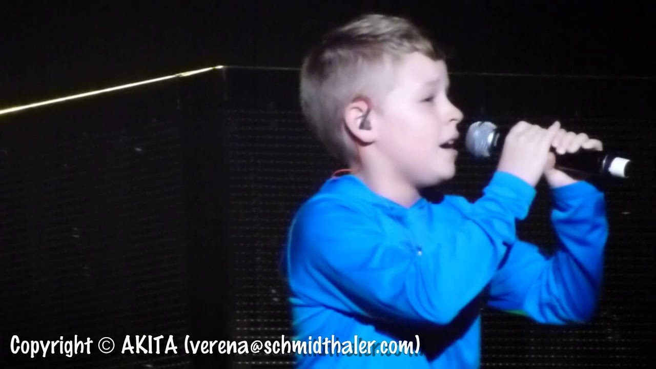 Baylee Littrell Fantasy I Want You Back Hannover 2014