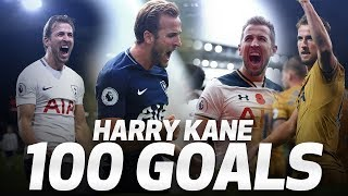 HARRY KANE\'S 100 PREMIER LEAGUE GOALS