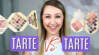 Today's video is my Battle of the Tarte Holiday Sets 2018 Tarte Swe...