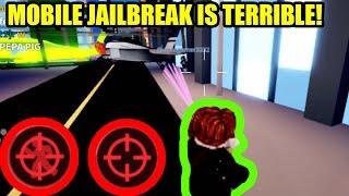 HOW BAD is New MOBILE JAILBREAK??? | Roblox Jailbreak