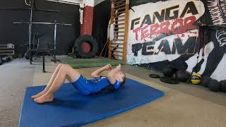 MMA KIDS ODC. 5  Ćwiczenia Wytrzymałościowe