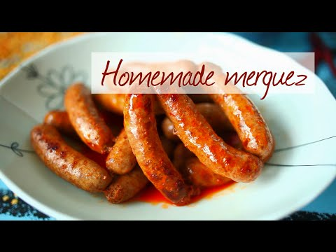 How to make homemade merguez sausage - YouTube