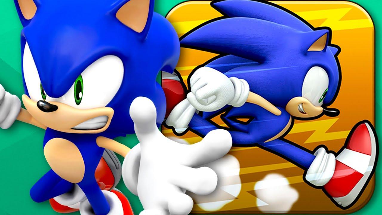 Sonic Runners Iphone Gameplay Youtube