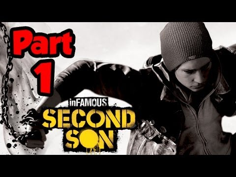 Infamous Second Son Walkthrough Part 1 - MIND BLOWN - Gameplay Playthrough (PS4 1080p HD)