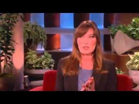 Carla Bruni FULL Interview on Ellen