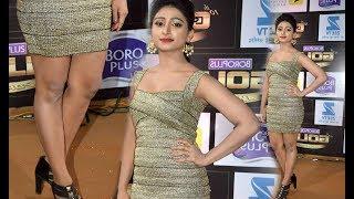 Yeh Rishta Kya Kehlata Hai Actress Mohena Singh Hot At Gold Awards 2017