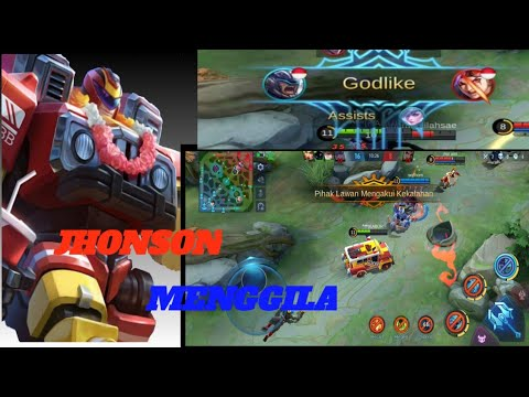 GAME PLAY JHONSON PRO AND GG-MOBILE LEGENDS