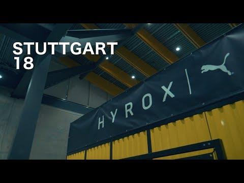 Hyrox Stuttgart Fitness Competition 2018