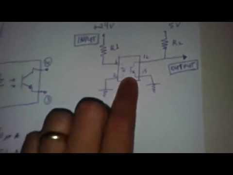 Arduino with TLP521-4 - Optical Isolator - Photocoupler by