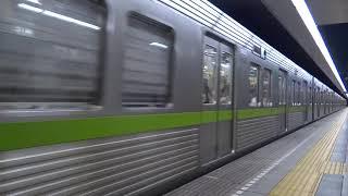都営新宿線10-000形 神保町駅発車