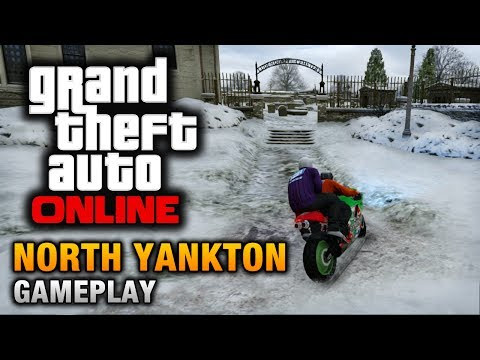 GTA Online - North Yankton Gameplay (How to reach North Yankton)