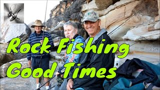 Rock Fishing for Black Fish | The Hook and The Cook