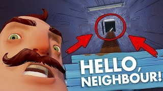 НАШЕЛ ТАЙНОЕ ОРУЖИЕ СОСЕДА НАВЕРХУ ДОМА! - Hello Neighbor: Reborn (ALPHA 4)