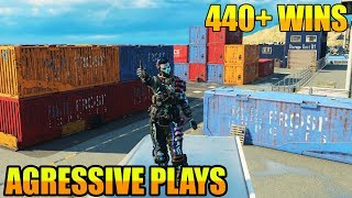 TOP CoD BLACKOUT // NEW UPDATE // 448 WINS!! // 28% PC and PS4 W/L // CoD // BEST PS4