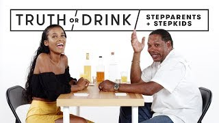 Stepparents & Stepkids Play Truth or Drink | Truth or Drink | Cut