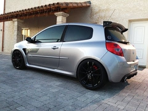 akrapovic exhaust renault clio 3 rs doovi. Black Bedroom Furniture Sets. Home Design Ideas