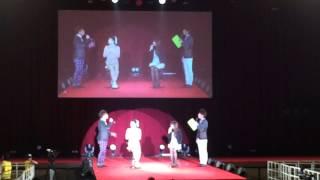 2014年11月23日和歌山コレクションにてゲスト:宮城舞ちゃんと「耳つぼ...