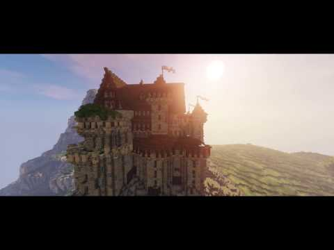 Minecraft Templar Castle Build 60fps 1080p + Download