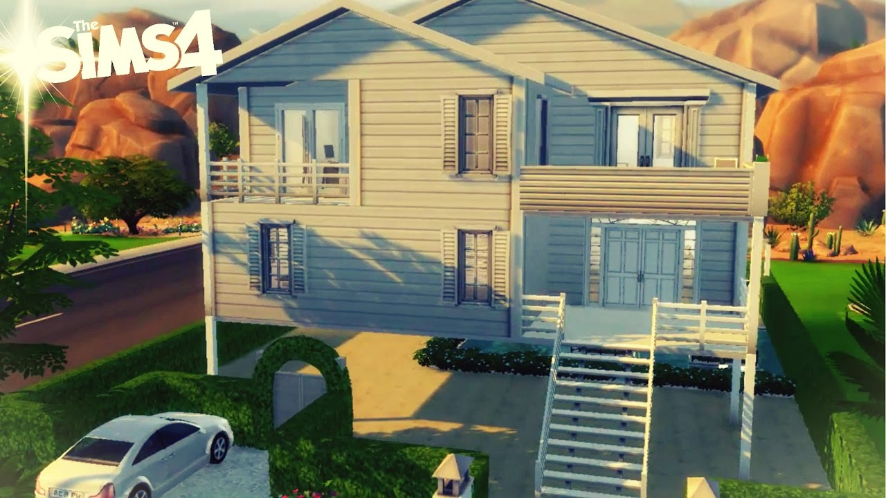 maison en hauteur construction d co sims 4 youtube